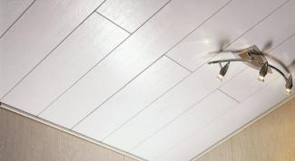 Как монтировать потолочные панели