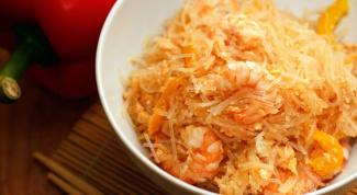 Как готовить рисовую вермишель