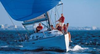 Как построить парусную лодку