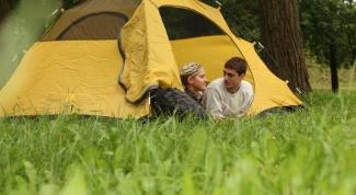 Как сложить рыболовную палатку