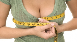 How to determine breast size visually
