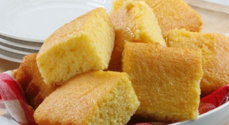 How to bake bread from corn flour