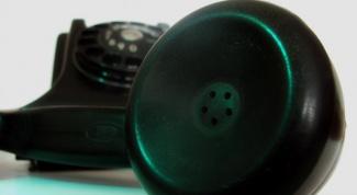 Как сделать телефонную трубку