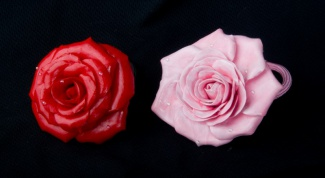How to make a hair pin with a flower
