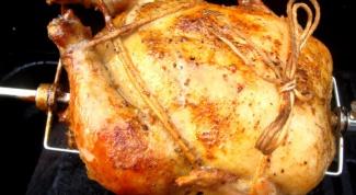 Как определить готовность курицы
