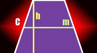 How to calculate the height of a trapezoid