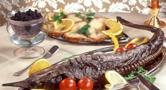 How to cook whole sturgeon