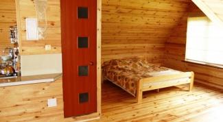 Как построить деревянную мансарду