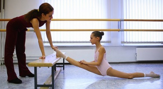 How to stretch the child the splits
