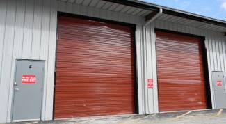 Как поставить гараж во дворе