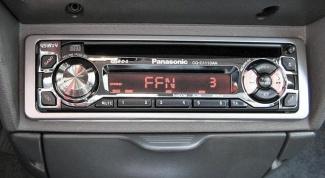 Как подключить магнитолу Panasonic