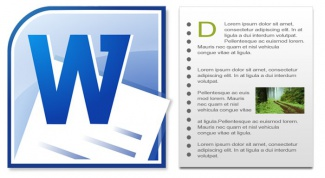 As in Word remove headers and footers