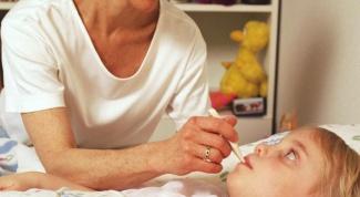 Как убрать температуру у ребенка