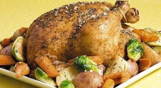 Как вкуснее запечь курицу