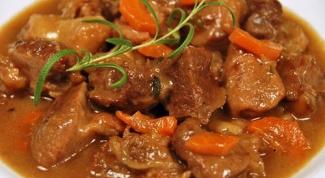 Как вкусно потушить мясо