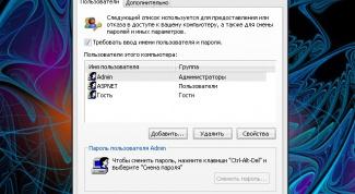 Как восстановить пароль администратора