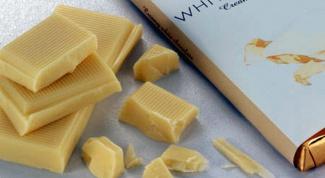 Как растопить белый шоколад