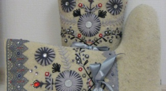 Как украсить валенки: секреты рукоделия