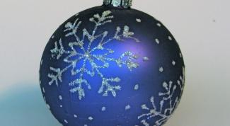 Как нарисовать новогодний шар