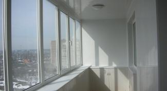 Как сделать из балкона лоджию