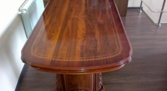 How to restore the polishing of the furniture