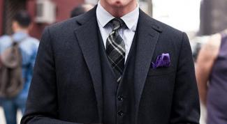 Как подобрать галстук к костюму