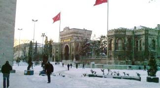 Как одеваться зимой в Турции