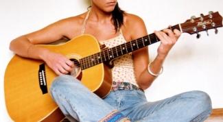 Как настроить обычную гитару