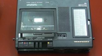 Как записать аудиокассету на компьютер