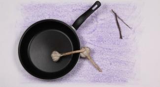 Как отчистить сковородку от нагара