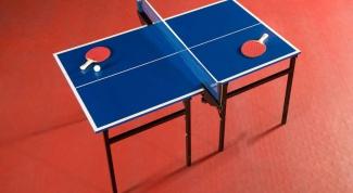Как выбрать теннисный стол