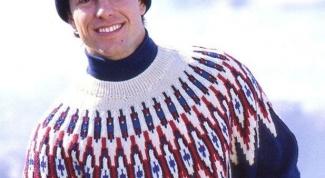 How to knit a circular yoke