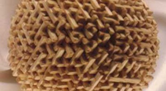 Как сделать шар из спичек