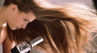 Как быстро высушить волосы
