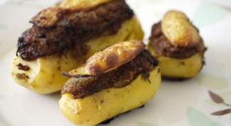 How delicious to bake potatoes