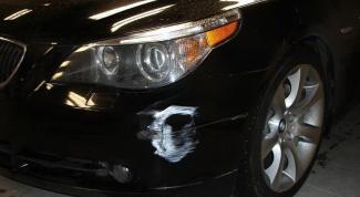 Как избавиться от царапин на авто
