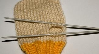 Из каких шагов состоит вязание варежек