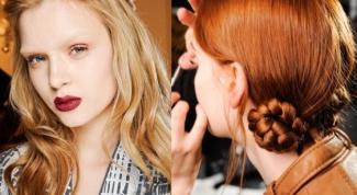 Как делать причёску из косичек