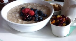 How to cook porridge from oats