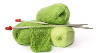 Как вязать платочной вязкой
