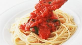 How to prepare the original tomato sauce
