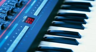 Как включить синтезатор