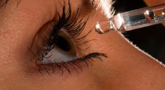 Как вытащить из глаза соринку