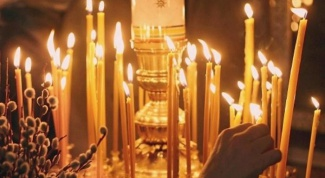 As for the Church to put a candle for the health