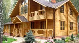 Как построить брусовый дом