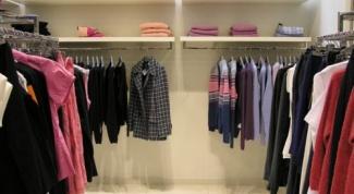 Как открыть небольшой магазин одежды