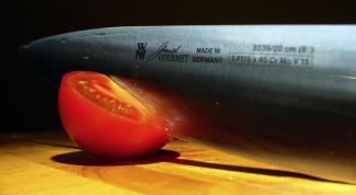 Как быстро резать ножом