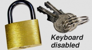 How to lock keyboard