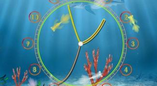 Как на заставку поставить часы