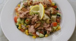 Салат из тунца: как готовить вкусно